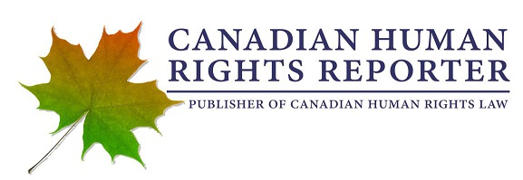 Canadian Human Rights Reporter: Publisher of Canadian Human Rights Law logo